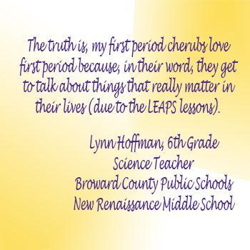Lynn Hoffman, 6th Grade Science Teacher (Broward County Public Schools- New Renaissance Middle School)